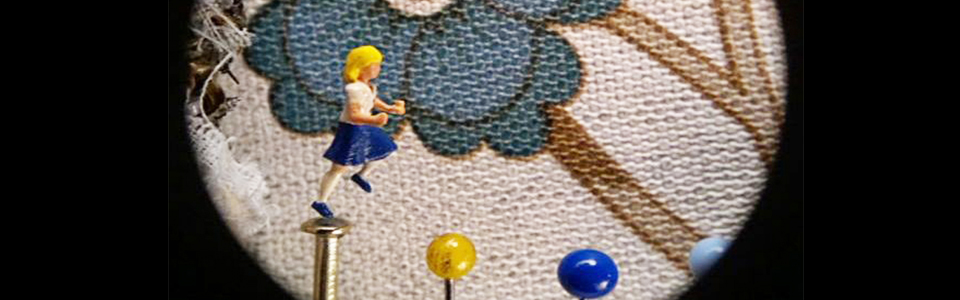 The world's smallest stop-motion animation movie.
