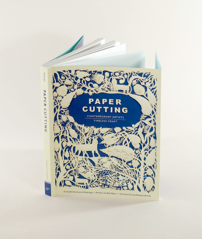 book PAPER CUTTING. Contemporary Artists. Timeless Craft.