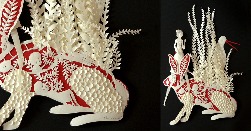rabbit Papercutting Gallery