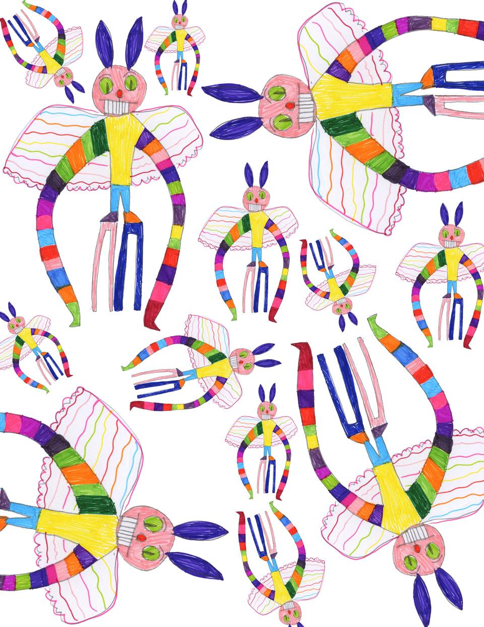 natalie artwork take 1 small Natalies Colorful Art