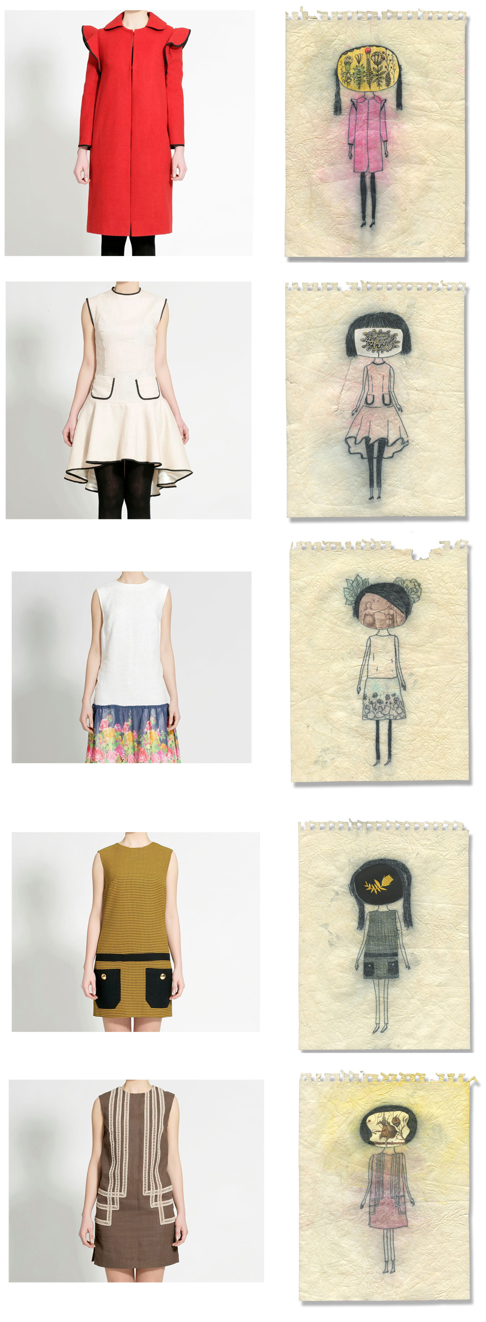 small1 Drawings Inspired by Cihanbey Boutique.