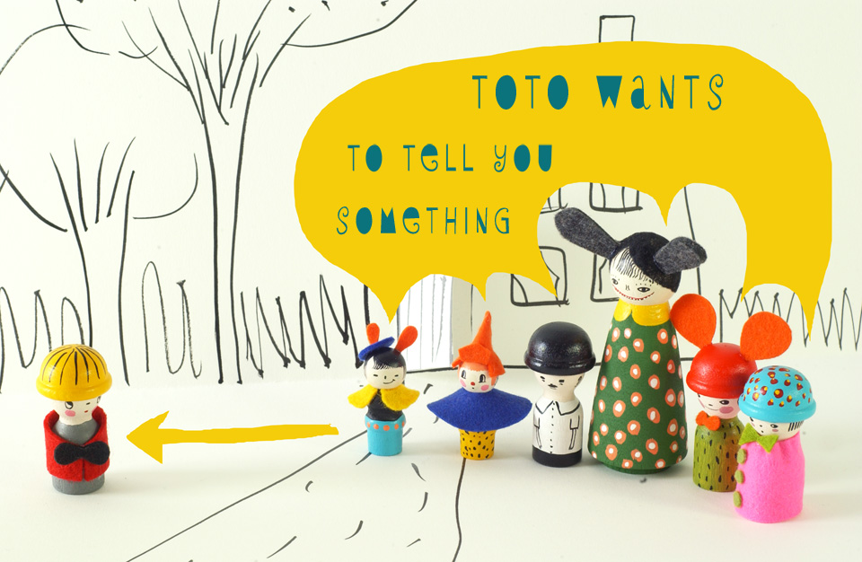 toto A Giveaway! Margaret Bloom's book: Making Peg Dolls.
