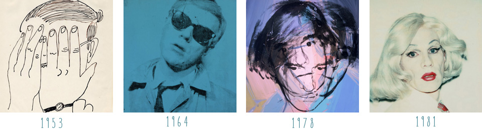 Andy Warhol.. Self Portrait Inspiration