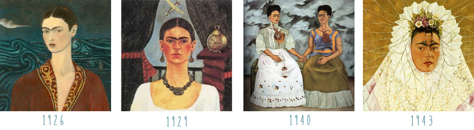 Frida Kahlo Self Portrait Inspiration