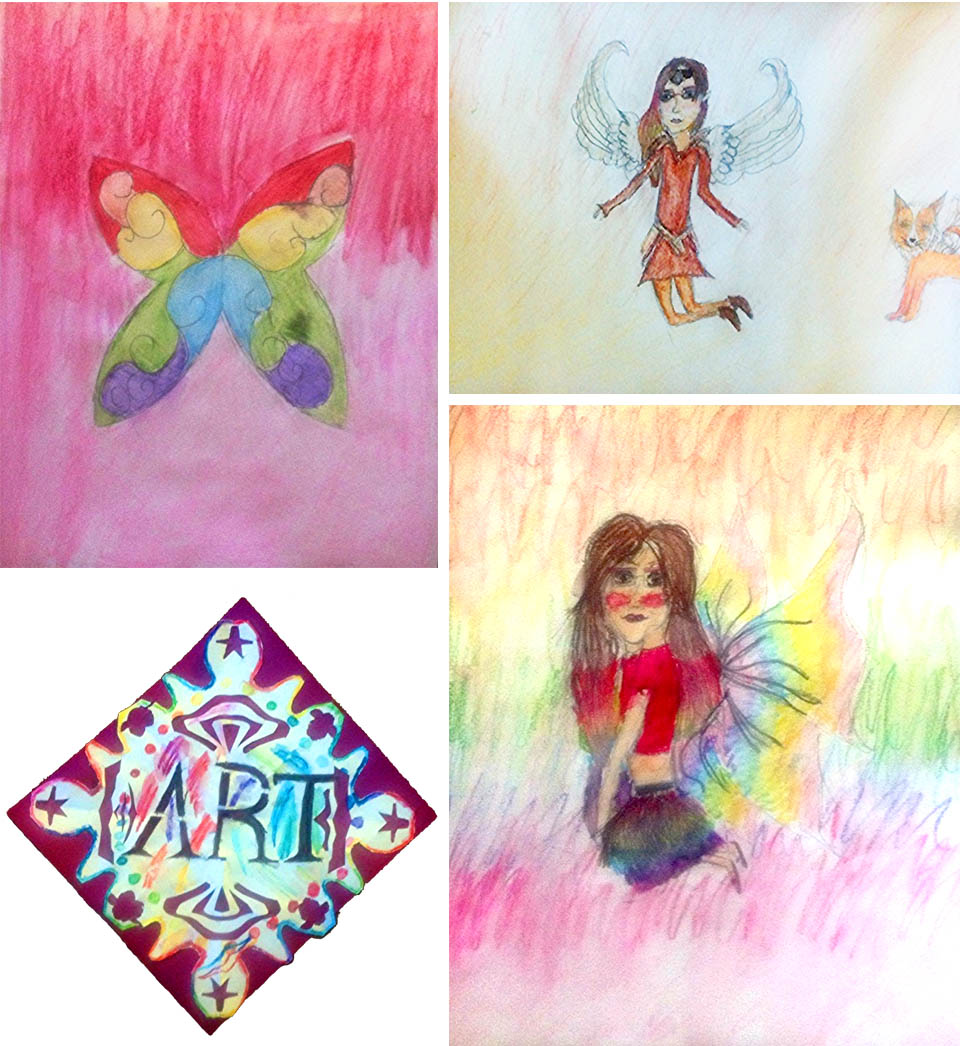 Luci ART IS A WAY CHILDRENS ART CONTEST. 2013