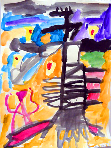 Matthew ART IS A WAY CHILDRENS ART CONTEST. 2013