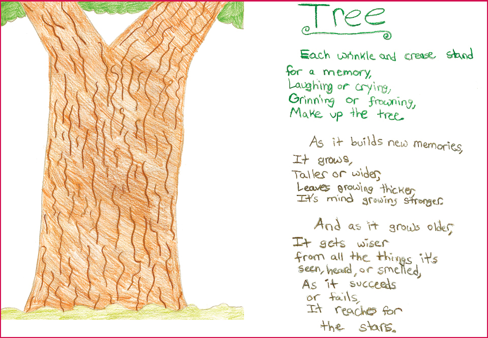 Tree Poem1 ART IS A WAY CHILDRENS ART CONTEST. 2013