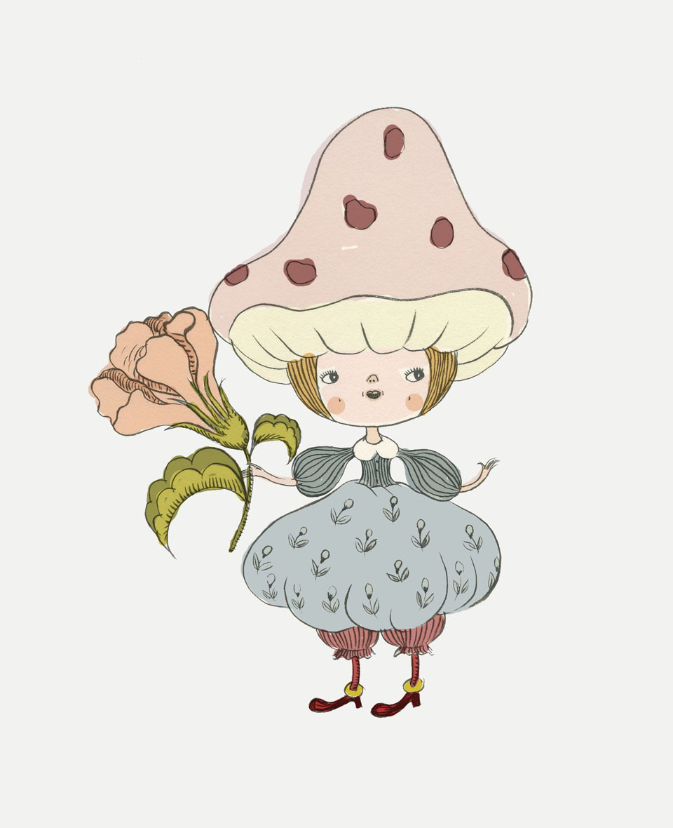 mushroom copy Four Illustrations and a New Tool