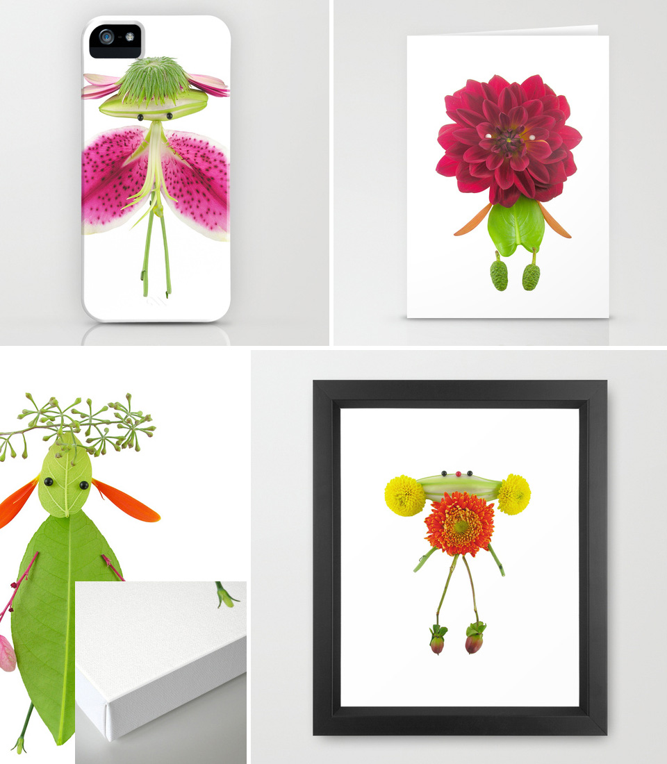 4 formats  My Flower Characters are Back! (And a giveaway)