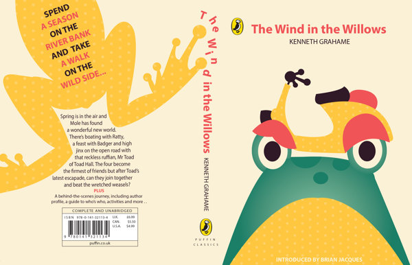 Penguin Book Cover Competition ~ The wind in willows book cover design contest by