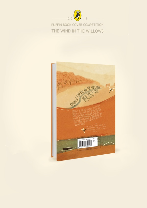 Penguin Book Cover Competition : The wind in willows book cover design contest by