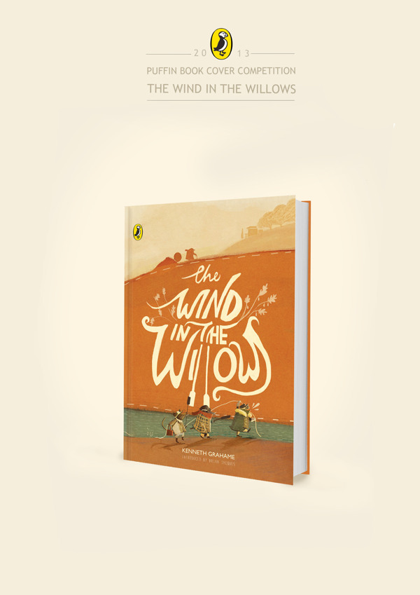 92e90985d3867b23e69daeb6e9090f35 The Wind in the Willows. Book Cover Design Contest by Penguin.
