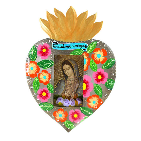 Our Lady of Guadalupe Heart Hearts for Inspiration.