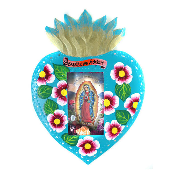 Tin Work Sacred Heart Niche Hearts for Inspiration.