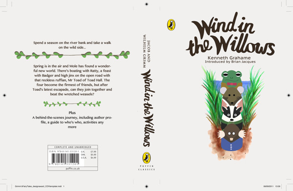 b8a3bafe64dd059f16ebf0df63caaee0 The Wind in the Willows. Book Cover Design Contest by Penguin.
