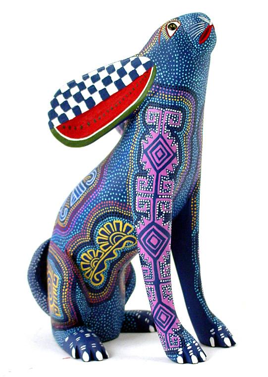 Oaxacan wood carvings art is a way