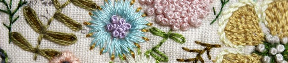 Beautiful Embroideries by Different Artists.