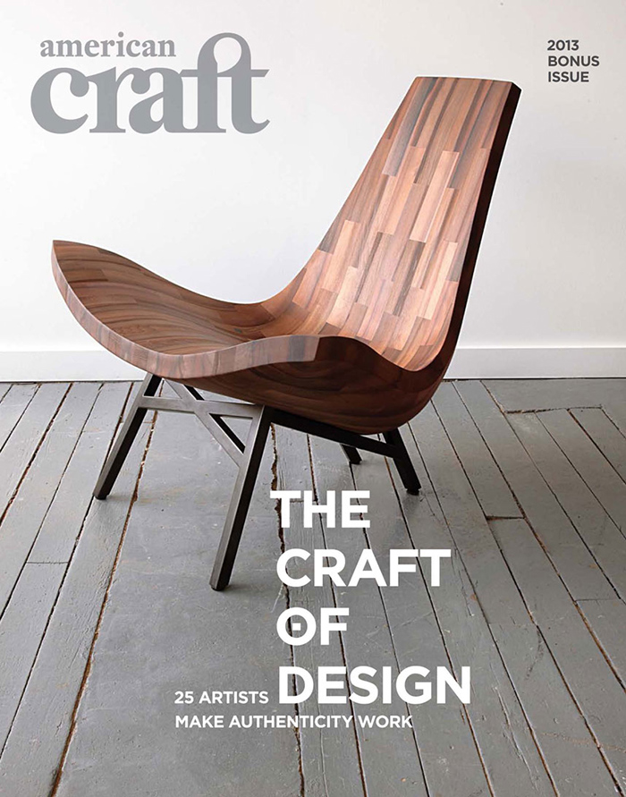 american craft cover Douglas Kirkland Took my Portrait. I still cannot believe that it actually happened!