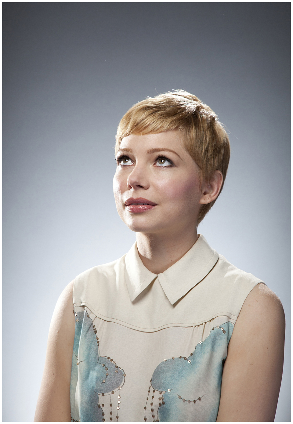 michelle williams photographed by douglas kirkland for 2011 academy award nominee on february 2 2012 Douglas Kirkland Took my Portrait. I still cannot believe that it actually happened!