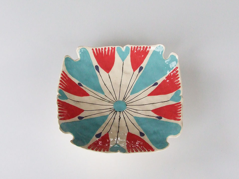 blue-heart dish