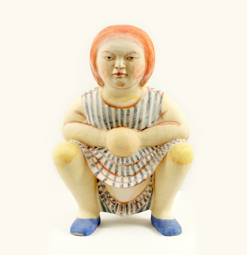 Akio Takamoris Clay People.