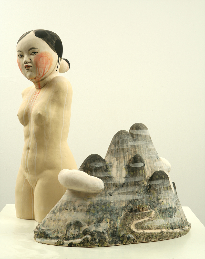 4544207433 ed0f1a444b b Akio Takamoris Clay People.