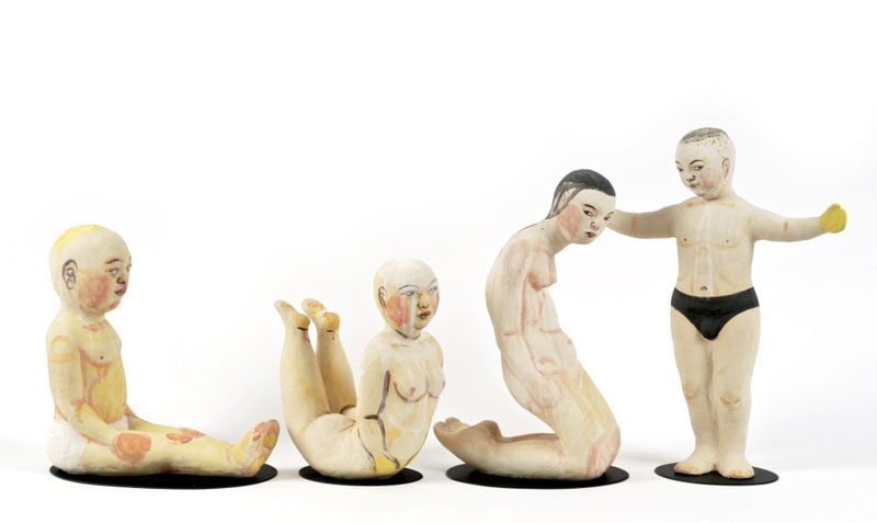 IMG 1216 1LUST 1024x610 Akio Takamoris Clay People.