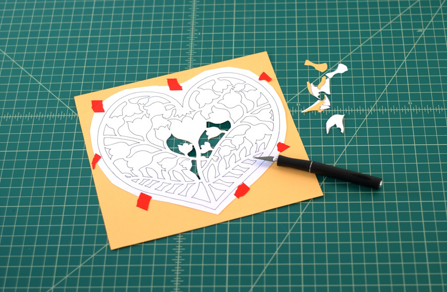 4 copy Papercut Patterns for my New Shop.