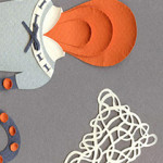 Paper Illustrations and my New Blog About Papercutting.
