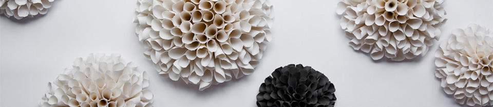 Porcelain Installations by Valeria Nascimento.