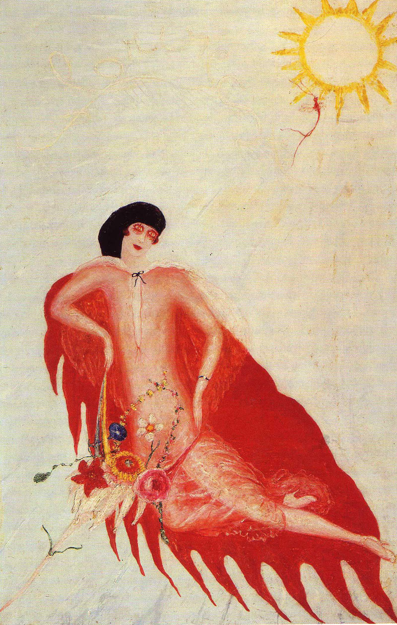 florineselfportrait The Art of Florine Stettheimer.