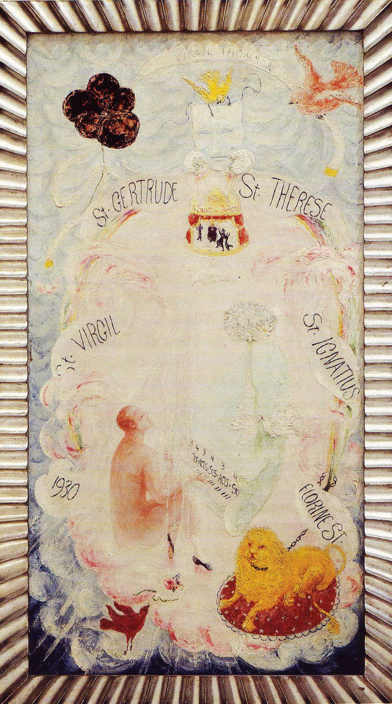 florinethomson The Art of Florine Stettheimer.