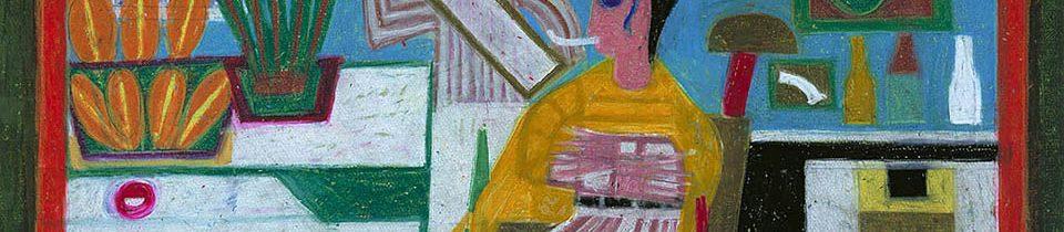 Outsider Artist Eddie Arning.