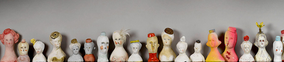 Ceramics by Bonnie Marie Smith.