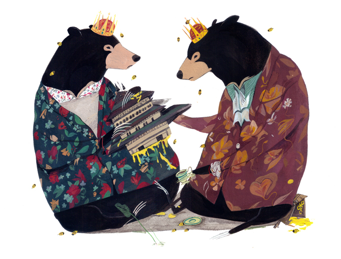 bearprinces tumblr Jon Laus Illustrations.