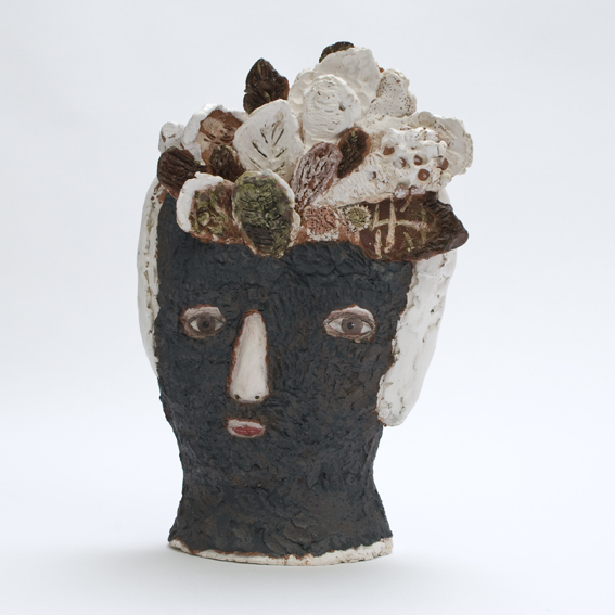 Not out of the woods front 72 20cm Claire Loders Ceramics.