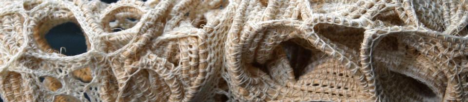 Judy Tadman's Rope Sculptures.