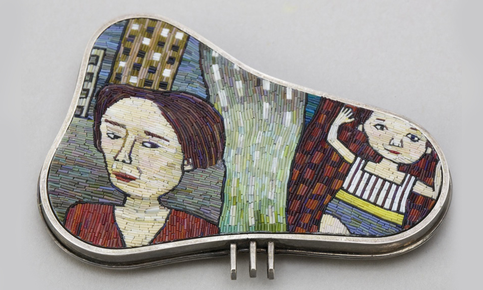 12 Micromosaic Jewelry by Cynthia Toops.