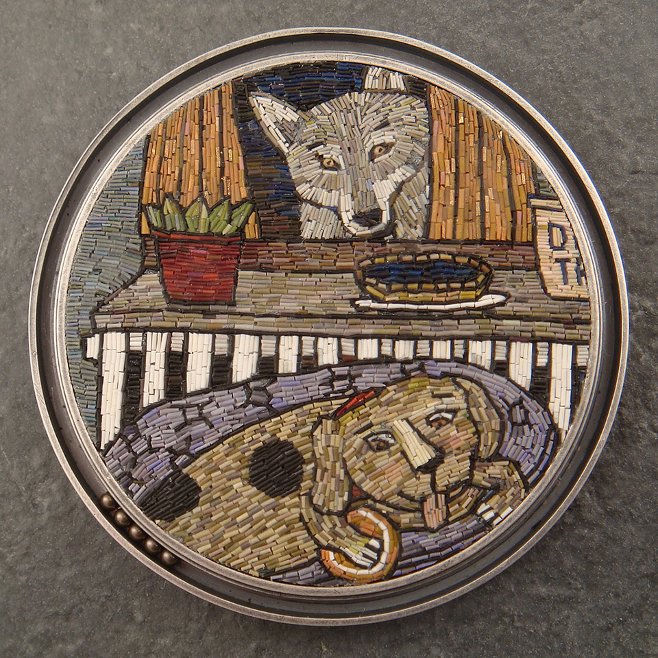 7492919582 babc606193 b Micromosaic Jewelry by Cynthia Toops.