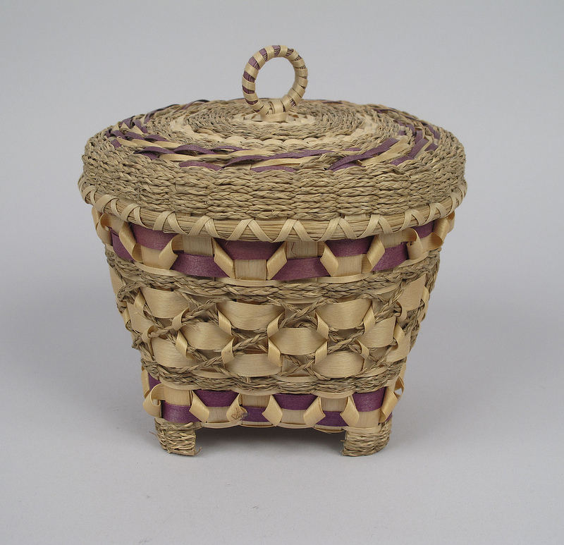 8536238189 9f31b5b14a c Baskets from the Abbe Museum Collection.