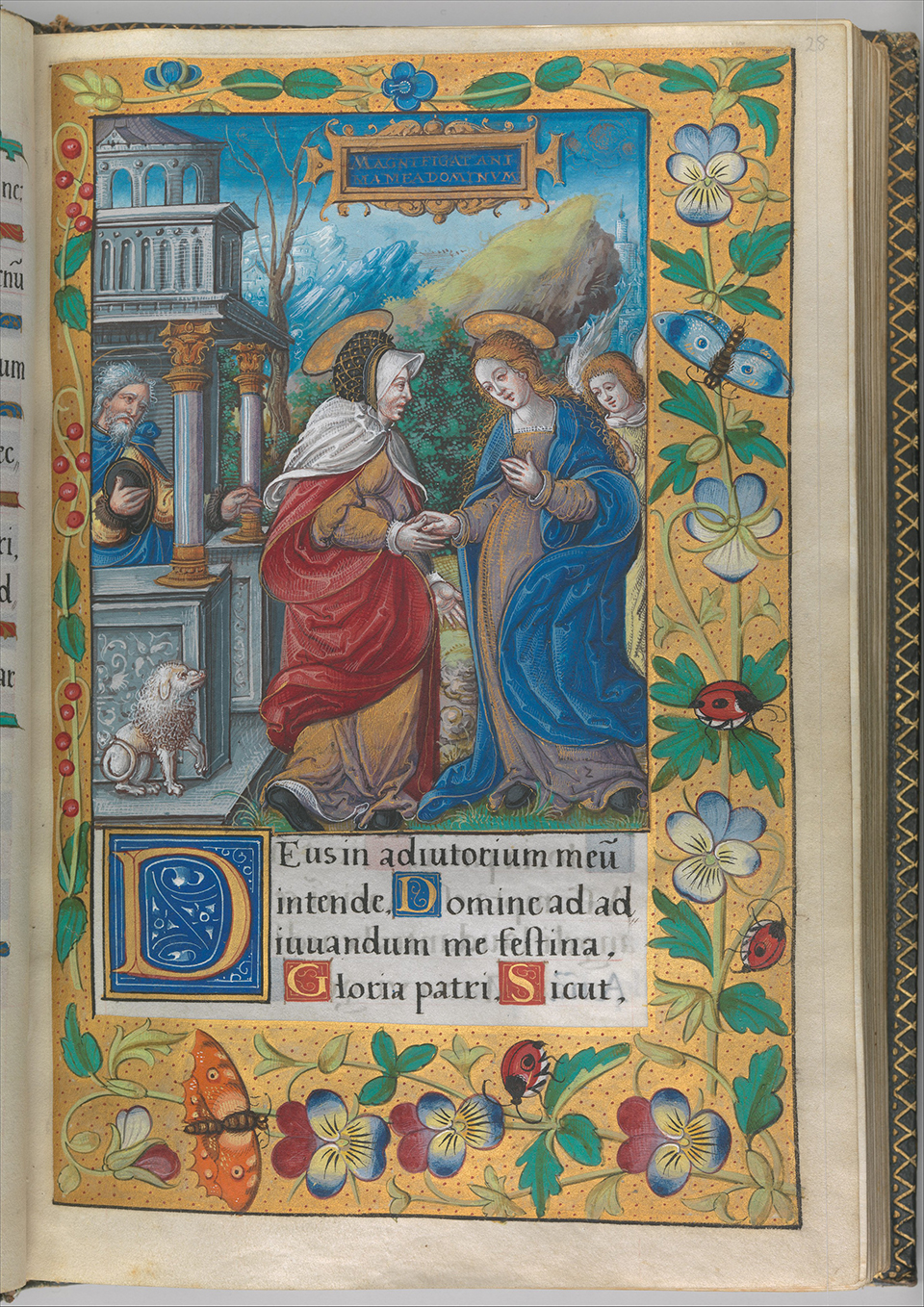DP269759 Illuminated Book of Hours made for King Francis I.