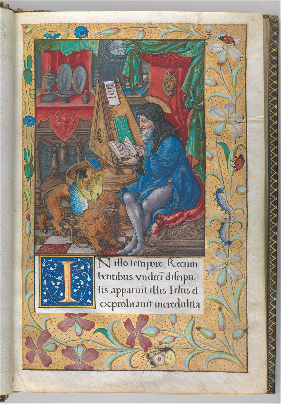 d8 Illuminated Book of Hours made for King Francis I.