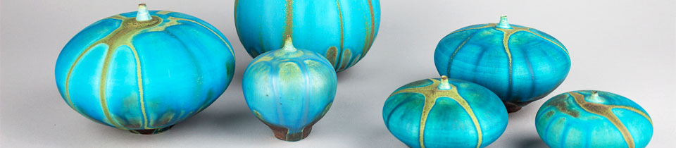 Ceramics by Rose Cabat. She is Turning 100 Next Month!