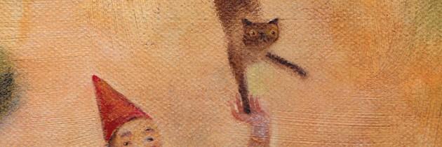 Paintings by DD McInnes.