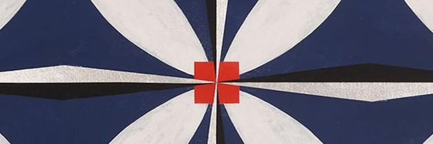 Beautiful Geometric Works by Mary Judge.